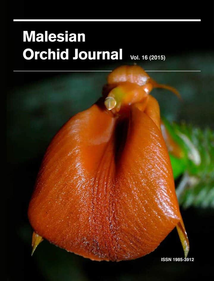 Malesian Orchid Journal Volume 16