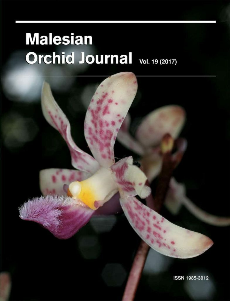 Malesian Orchid Journal Volume 19