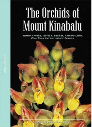 The Orchids of Mount Kinabalu Vol. 1 and 2
